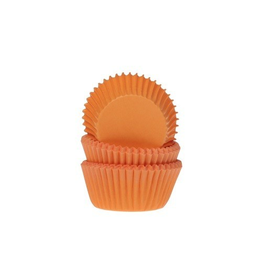 House Of Marie Cupcakecup mini oranje 60st