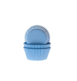 House Of Marie Cupcakecup mini licht blauw 60st