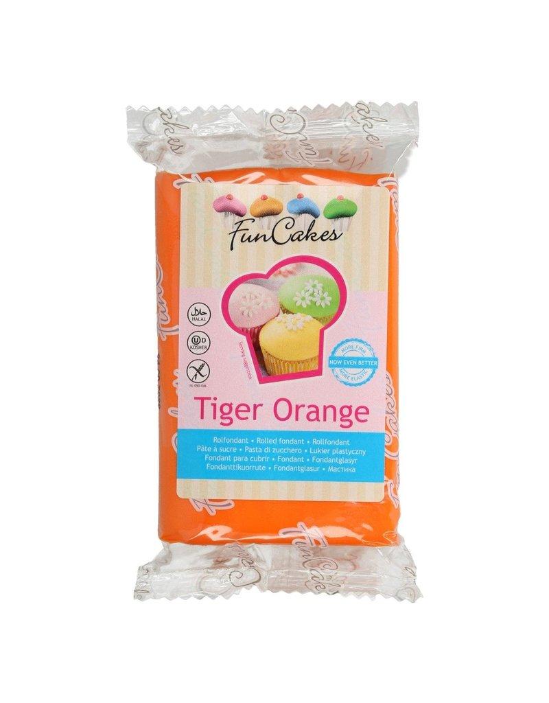 FunCakes Fondant tiger orange
