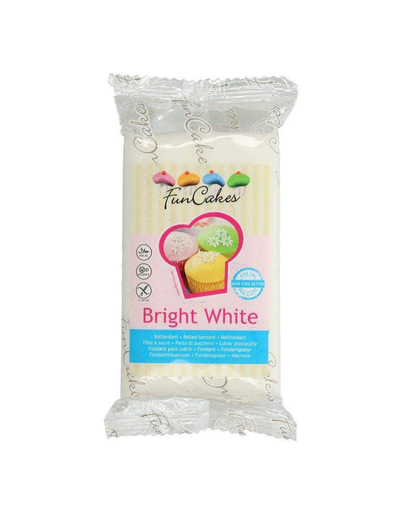 FunCakes Fondant bright white