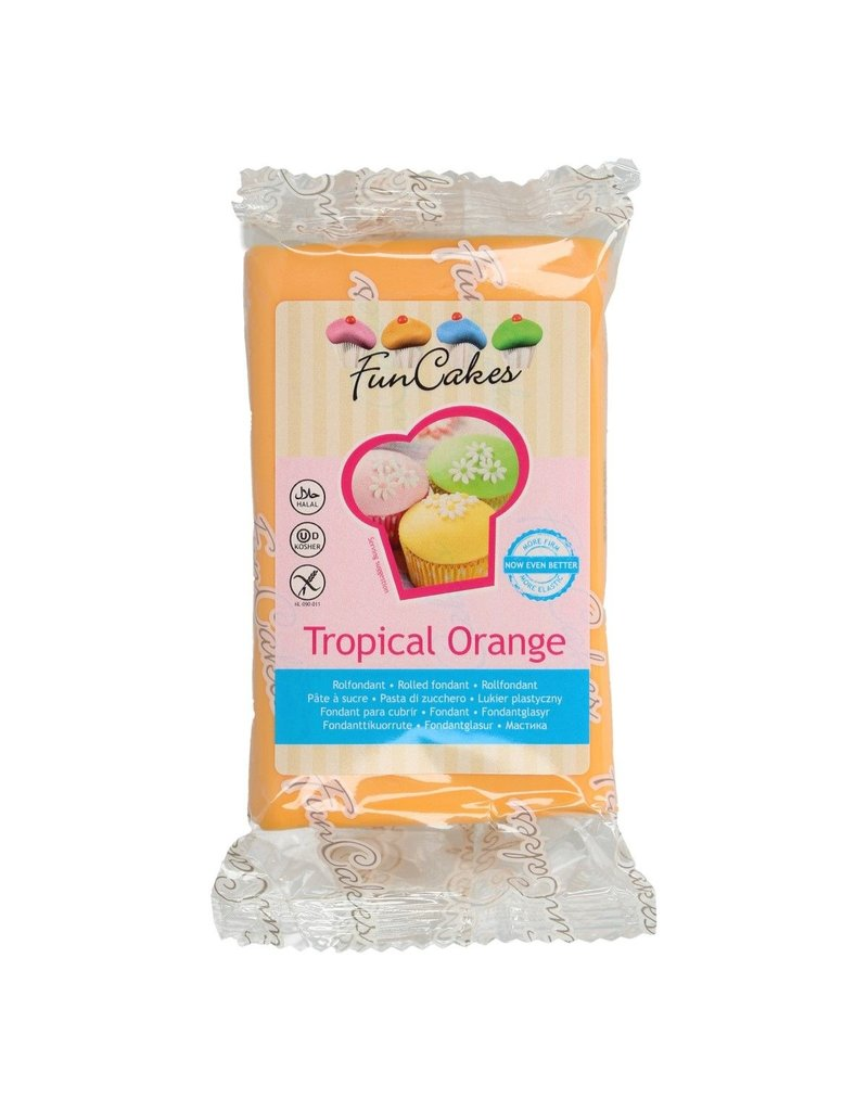 FunCakes Fondant tropical orange