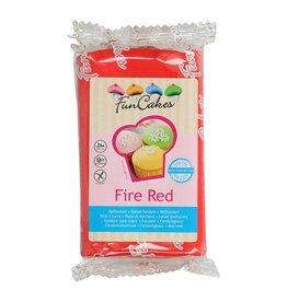FunCakes Fondant fire red
