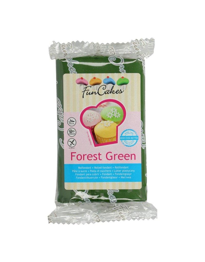 FunCakes Fondant forest green