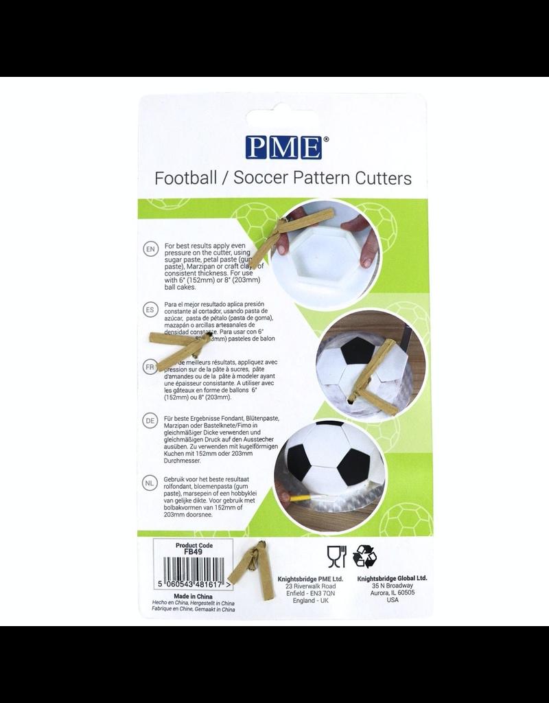 PME Uitsteker voetbal patroon