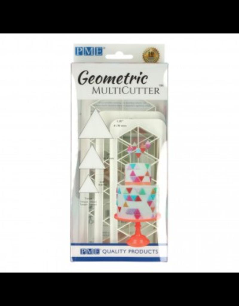PME Geometric cutter triangle set/3
