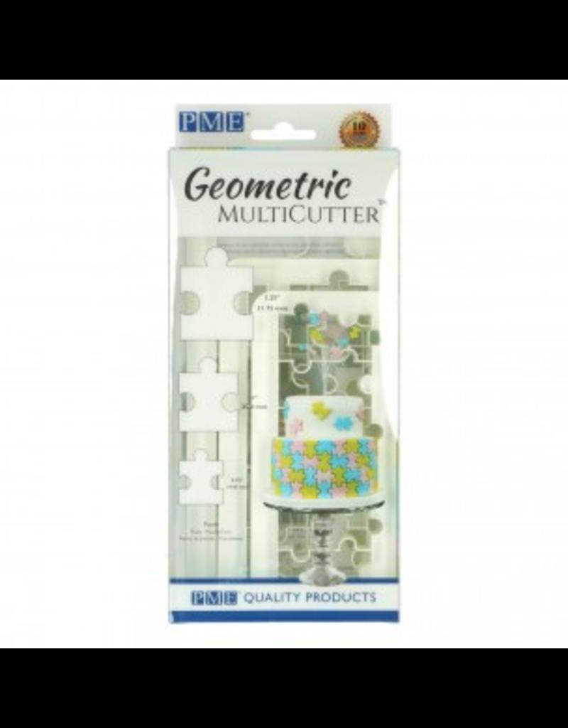 PME Geometric cutter puzzle set/3