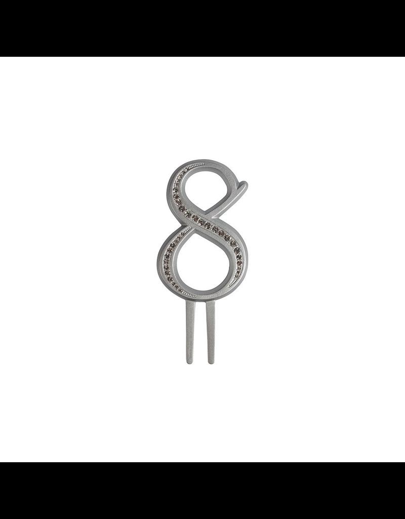 2: Sweet Store Taarttopper luxe cijfer 8