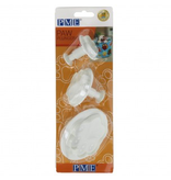 PME Plunger cutter hondenpoot set/3