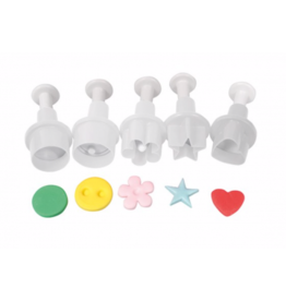 Cake Star Set mini uitstekers