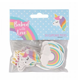 Baked with love Prikkers Unicorn