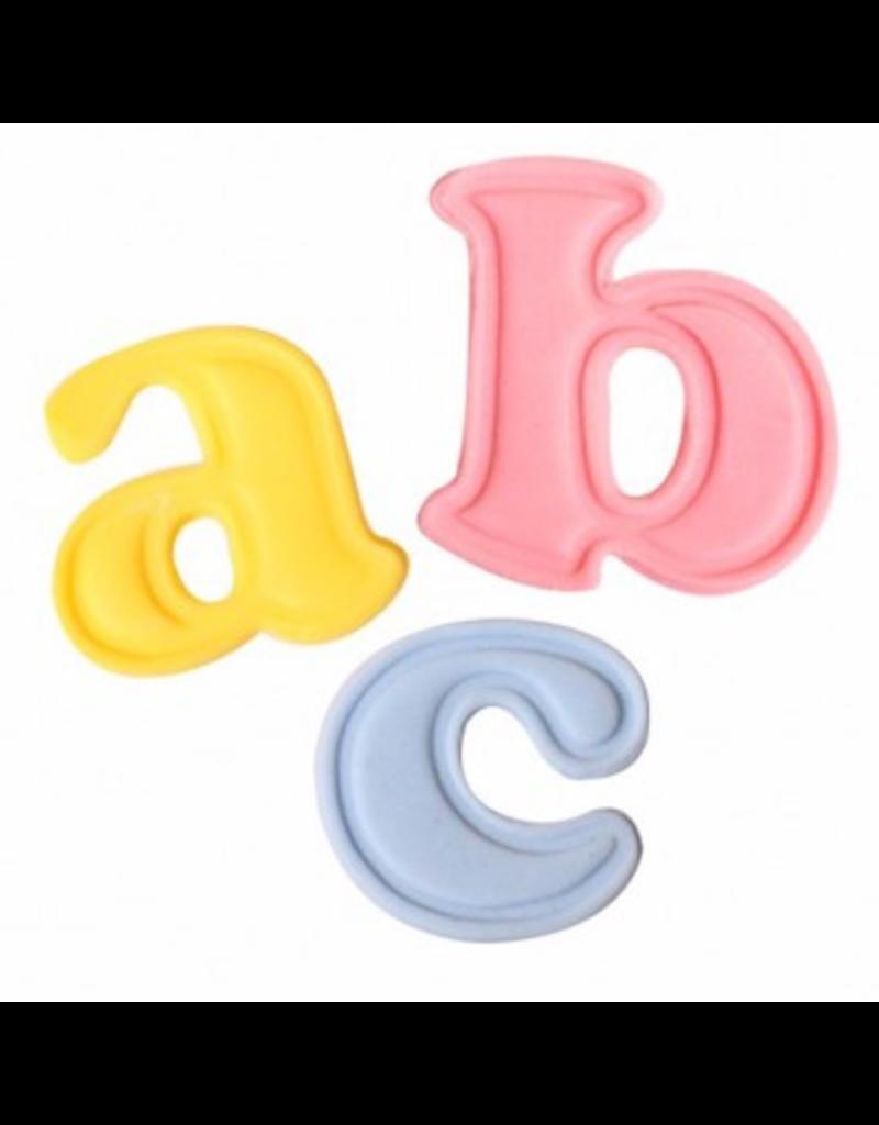 Cake Star Uitstekers letters kleine letters groot