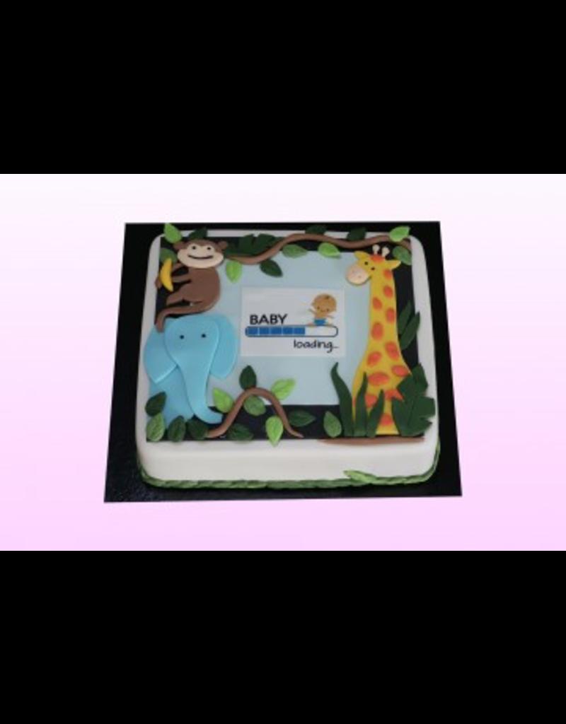 1: Sweet Planet Safari taart Model 2