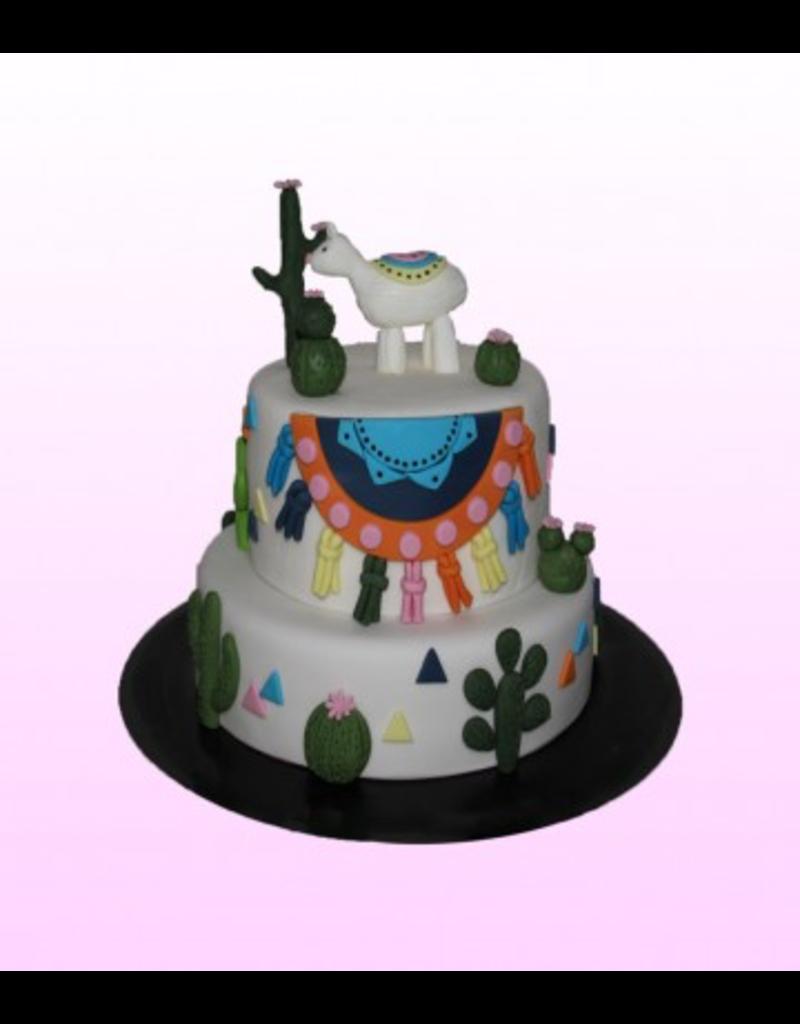 1: Sweet Planet Lama taart