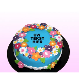 1: Sweet Planet Bloemen taart