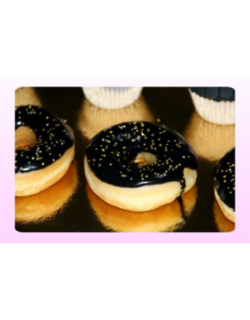 1: Sweet Planet Black&Gold Donuts