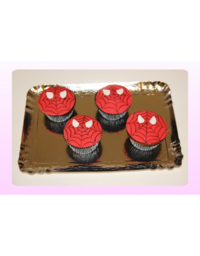 1: Sweet Planet Spiderman Cupcakes