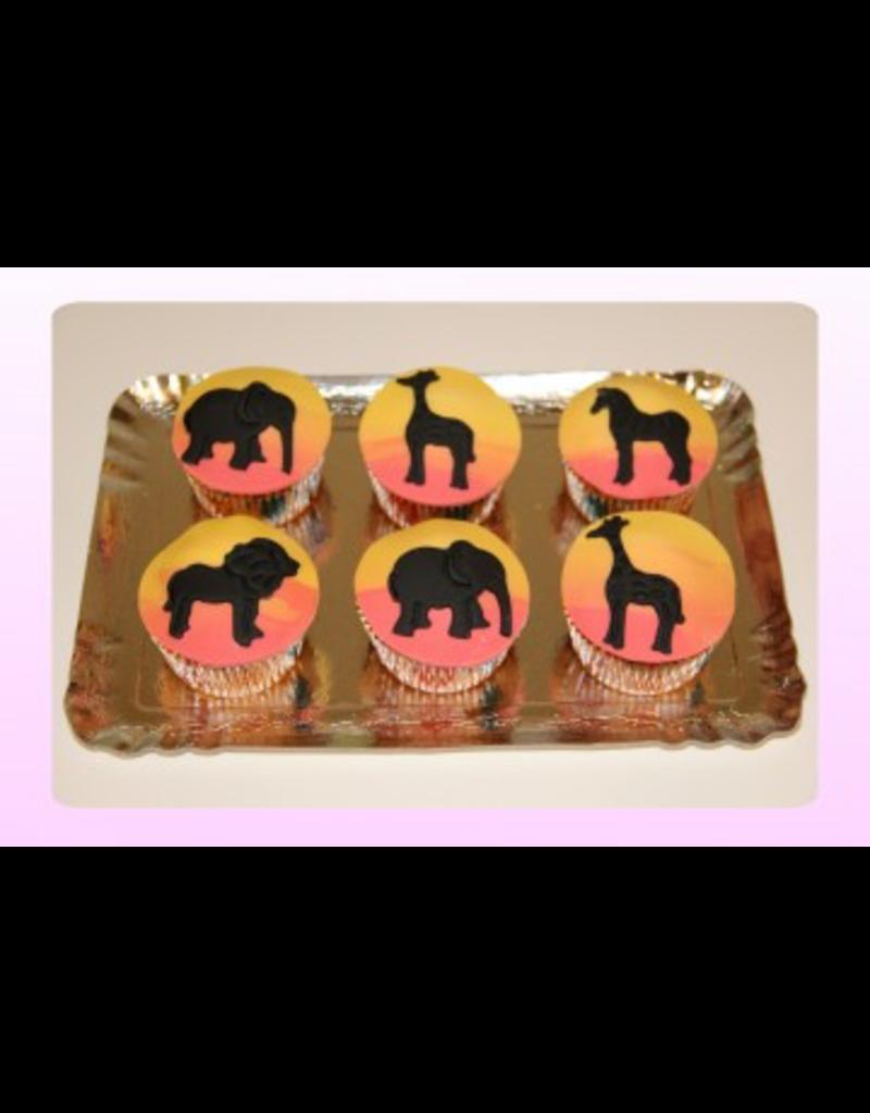 1: Sweet Planet Safari Cupcakes