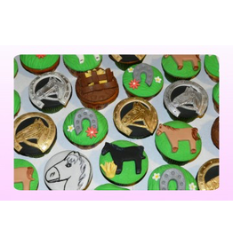 1: Sweet Planet Paarden Cupcakes