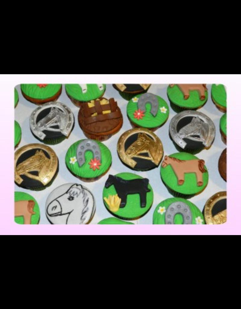 1: Sweet Planet Paarden Cupcakes