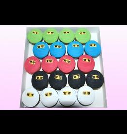 1: Sweet Planet Ninja lego Cupcakes