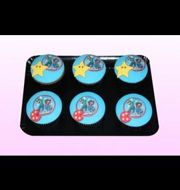 1: Sweet Planet Mario Cupcakes