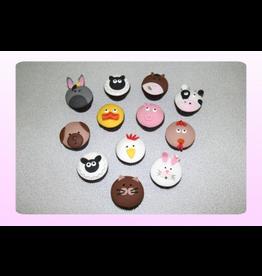 1: Sweet Planet Dieren Cupcakes