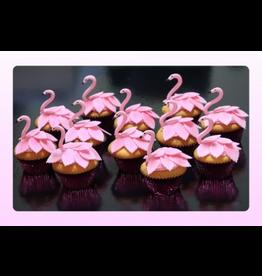 1: Sweet Planet Flamingo Cupcakes