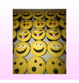 1: Sweet Planet Smileys cupcakes