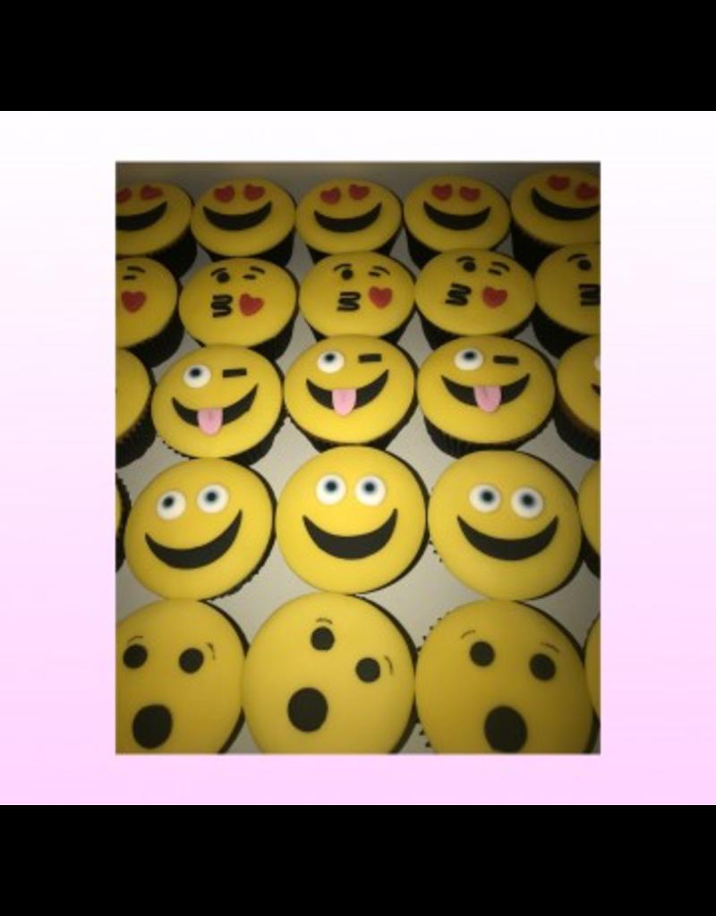1: Sweet Planet Smileys cupcakes