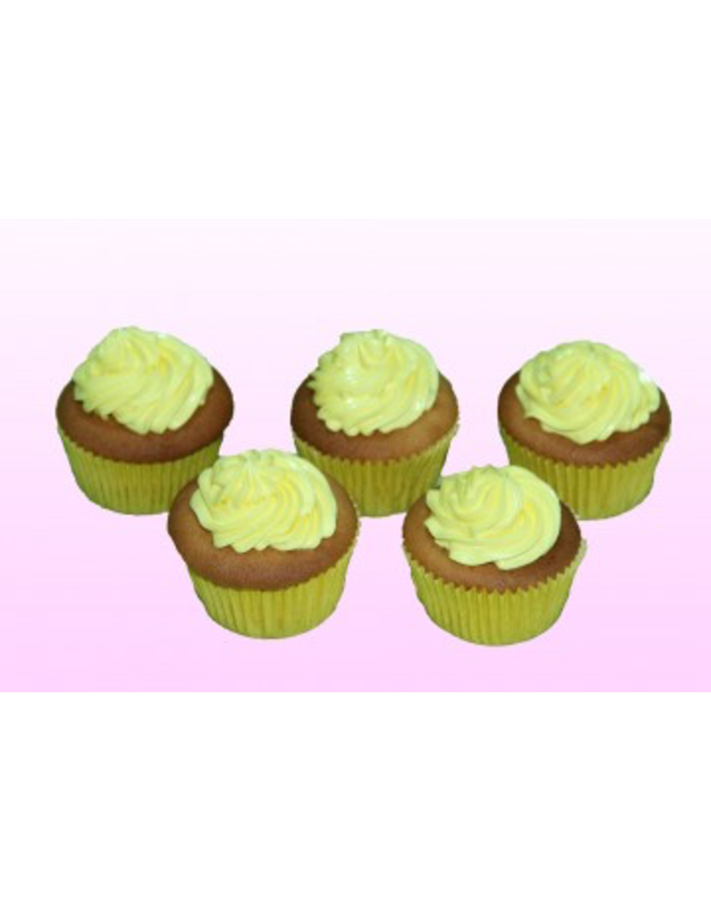 1: Sweet Planet Cupcakes met crème toefje