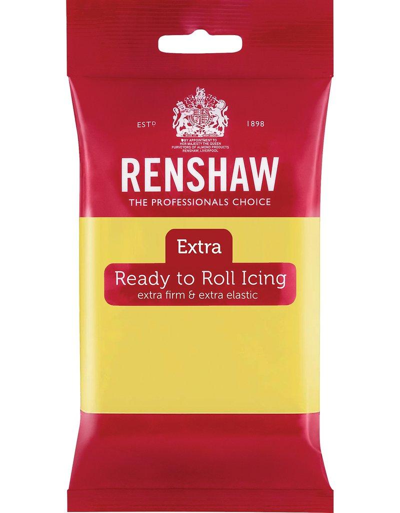Renshaw Fondant Renshaw pastel geel 250g