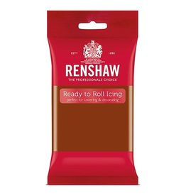 Renshaw Fondant Renshaw donker bruin 250g