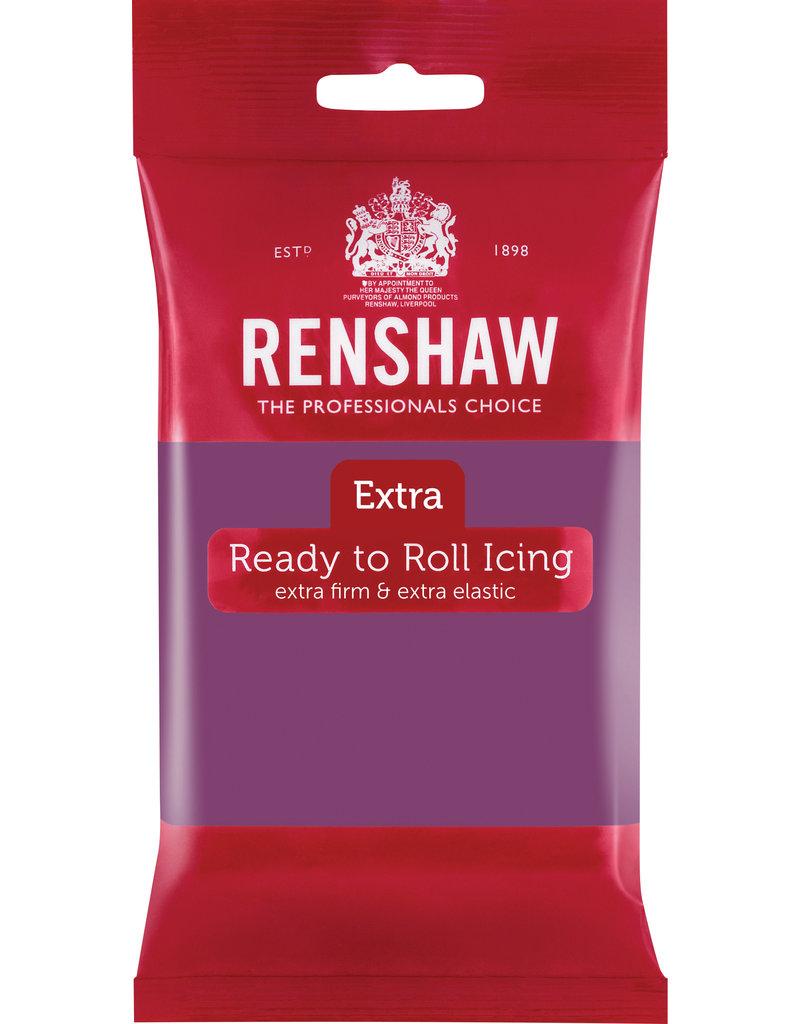 Renshaw Fondant Renshaw donker paars 250g