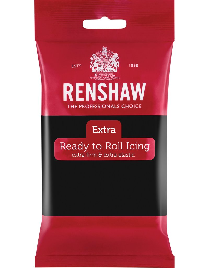 Renshaw Fondant Renshaw zwart 250g