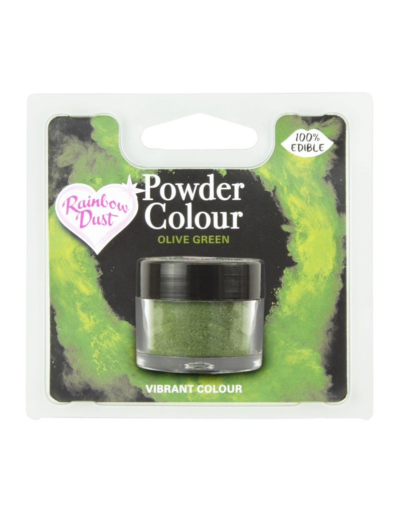 Rainbow Dust Kleurpoeder RBD OLIVE GREEN