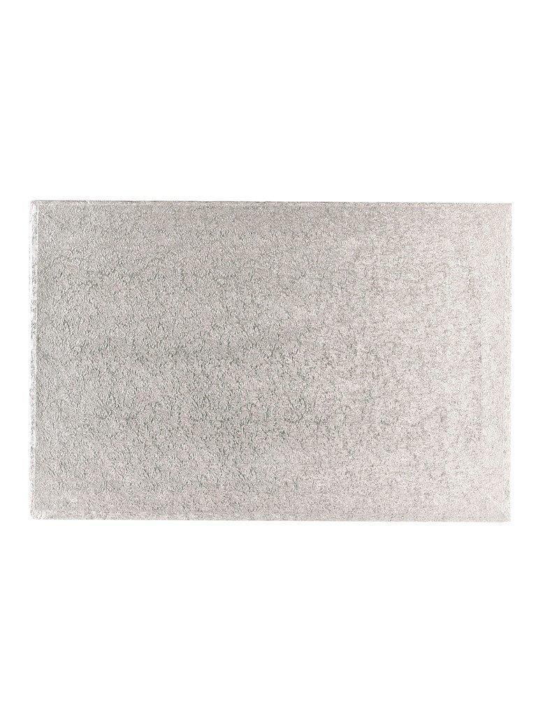 2: Sweet Store Cakeboard zilver rechthoek 50.5x35.5cm