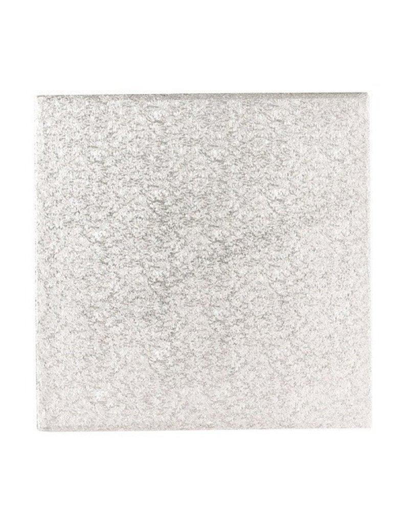 2: Sweet Store Cakeboard zilver vierkant 25.5cm