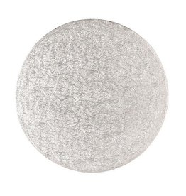 2: Sweet Store Cakeboard zilver rond 28cm