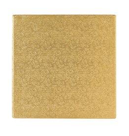 2: Sweet Store Cakedrum vierkant 15cm goud
