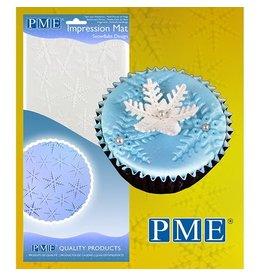 PME Impression mat sneeuwvlokken