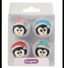 Culpitt Suikerfiguurtjes pinguïns met muts