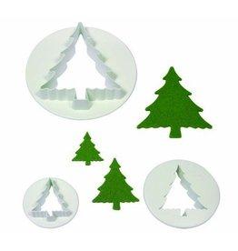 PME Uitstekerset Kerstboom set/3
