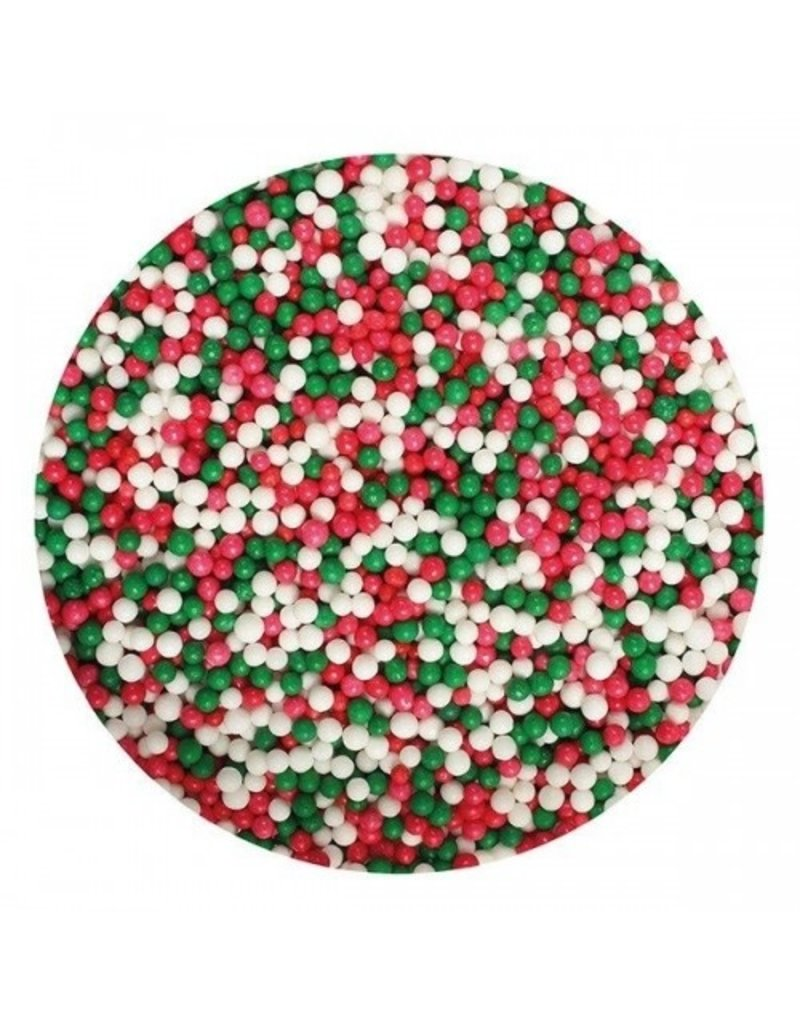 2: Sweet Store Musketzaad rood-wit-groen mix 80gr