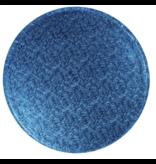 2: Sweet Store Cakedrum rond 25 cm donker blauw