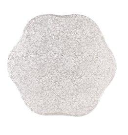 2: Sweet Store Cakedrum bloem 33 cm zilver