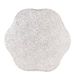 2: Sweet Store Cakedrum bloem 35,5 cm zilver