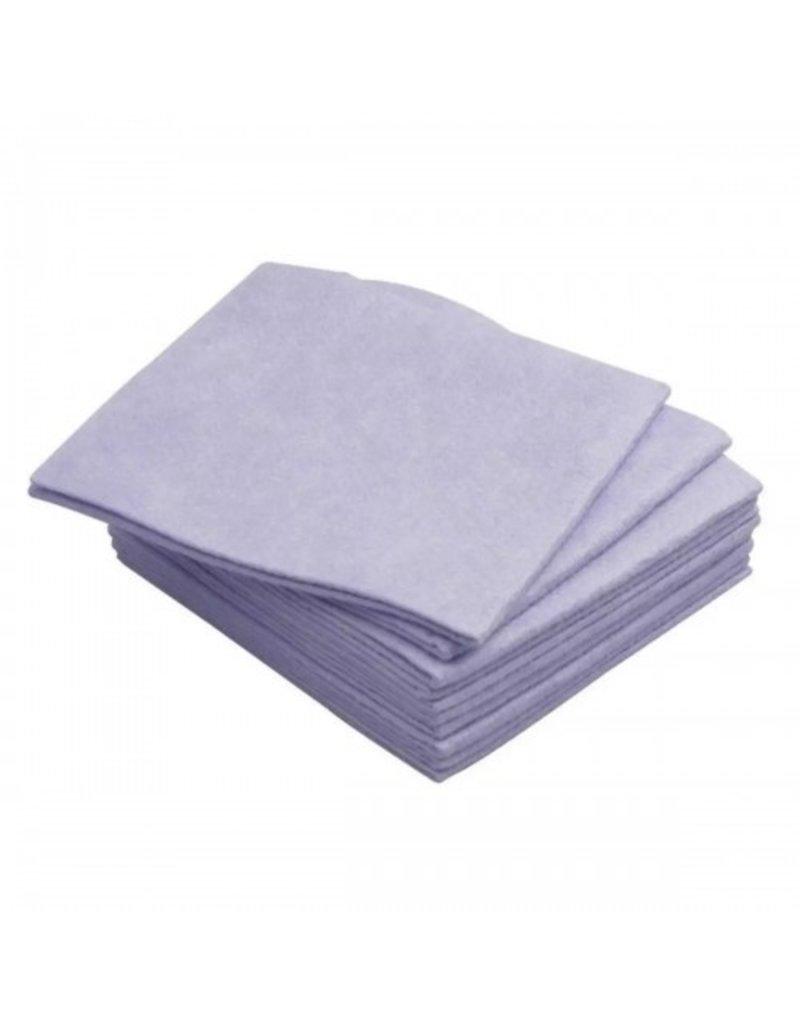 2: Sweet Store Vliesvaatdoek blauw 10 stuks