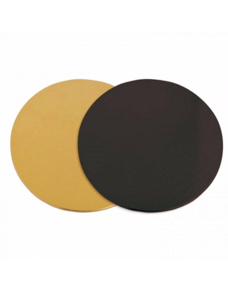 2: Sweet Store Taartkarton zwart/goud 21 cm
