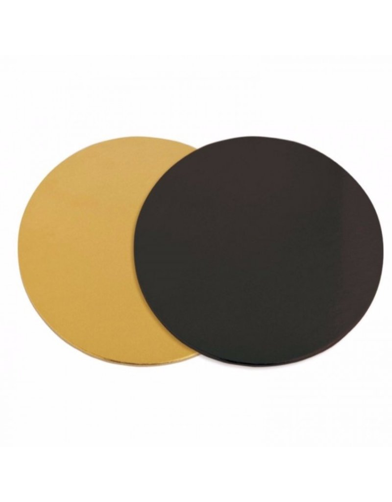 2: Sweet Store Taartkarton zwart/goud 32 cm