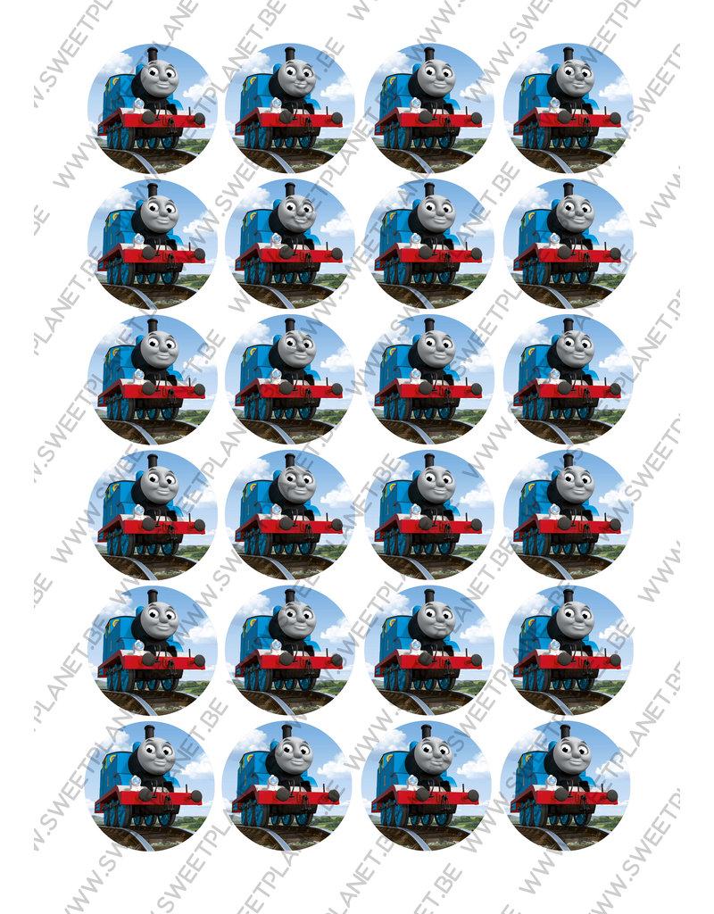 2: Sweet Store Thomas de trein rond 24 stuks
